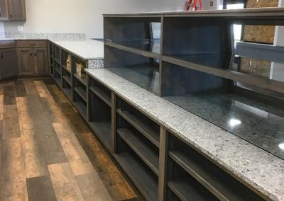 Custom natural stone granite countertops by Gordon Creek Granite of Hicksville, Ohio.